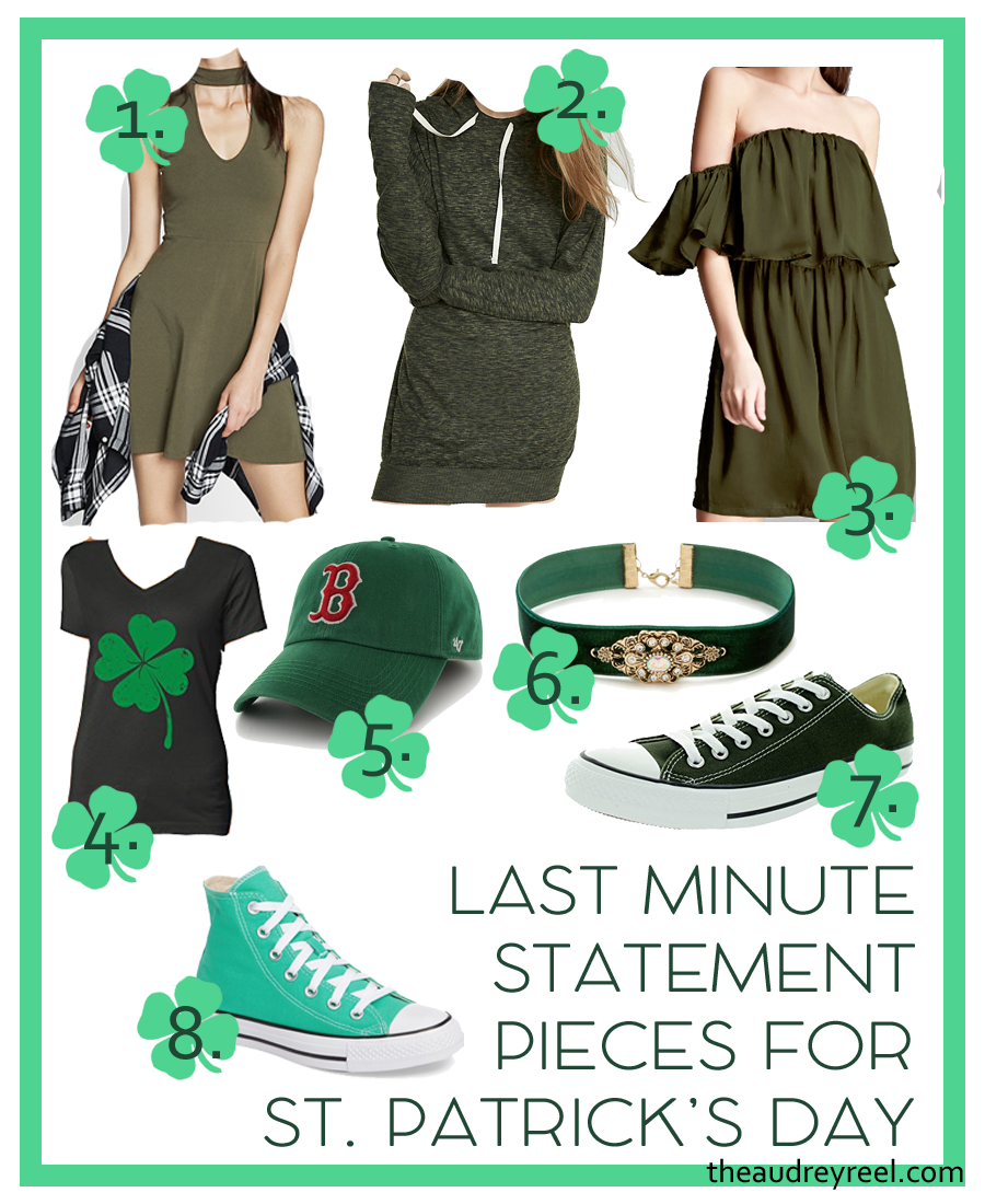 St. Patricks Day Outfit Last Minute Ideas Green Clothes